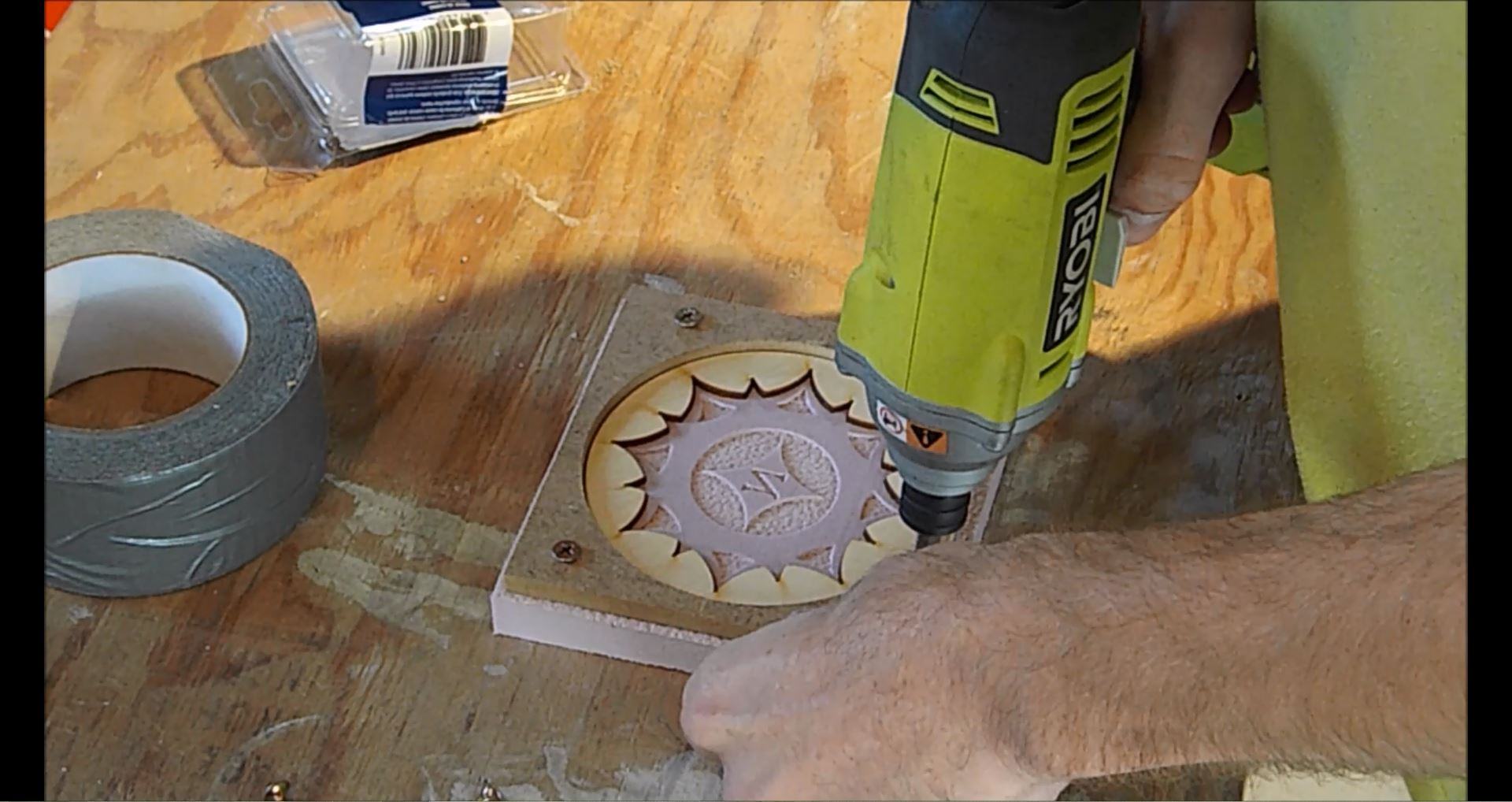 Picture of Making the Mold