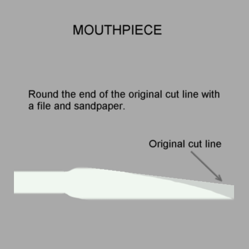 Picture of Shaping the Mouthpiece