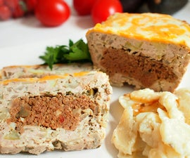 layered meatloaf