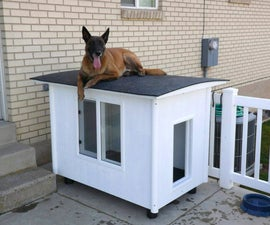 The Dog Mansion - or - Knock-Down Dog House