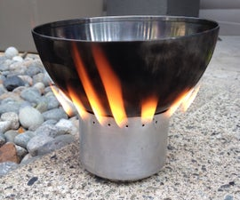 Soda Can Stove.