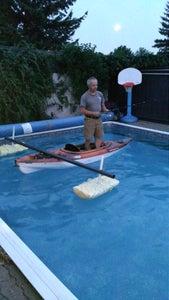 Portable Kayak Fishing Stabilizer