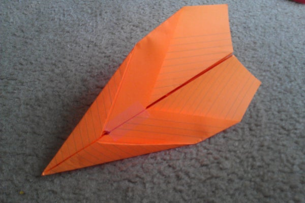 How to Make the NK DoubleDart Paper Airplane