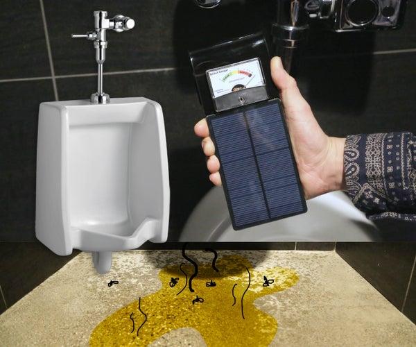 Urinal Splash Danger Meter