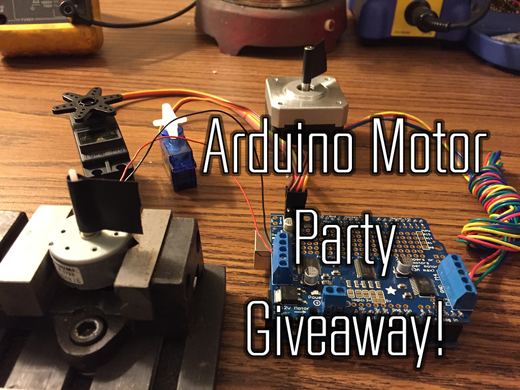 Picture of Arduino Motor Party