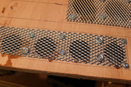 Close Up of Mesh Grilles