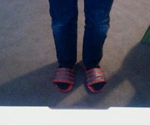 Duck Tape Sandals