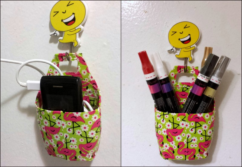Picture of Multi-purpose Holder From Lotion/Shampoo Bottles