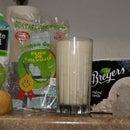 Natural Lime, guava, vanilla smoothie