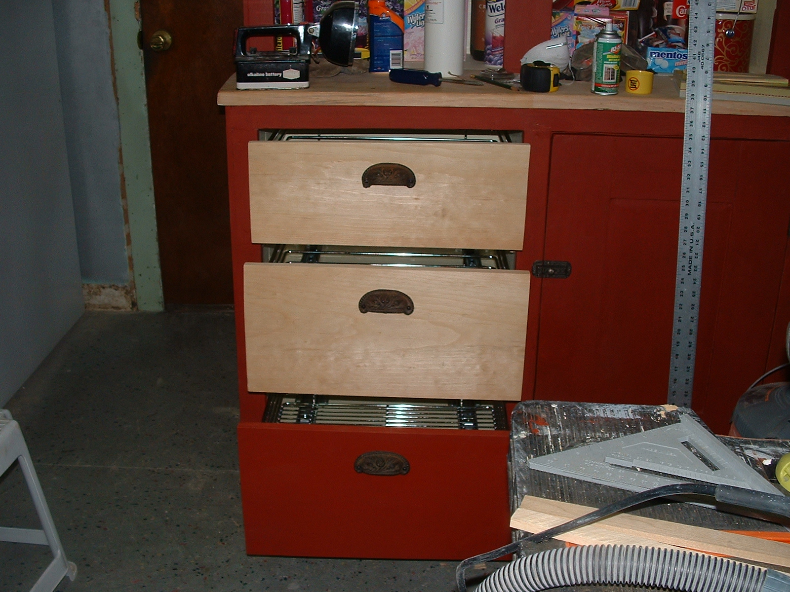 Picture of Creating New Drawer Fronts.