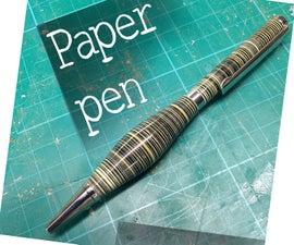 The paper pen
