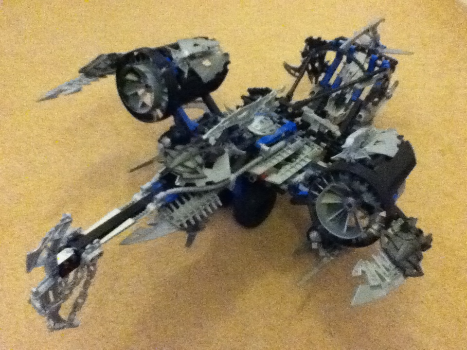 Picture of Modified Bionicle Ship