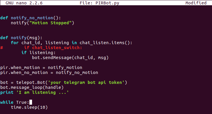 Picture of Bot and Raspberry Pi