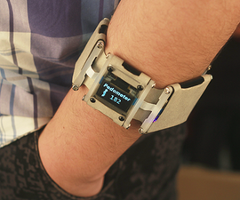 DIY a Pedometer Bracelet by Intel Edison And.....Paper