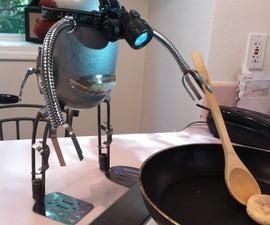 Egg man robot