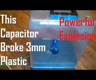 Capacitors Instead of Firecrackers
