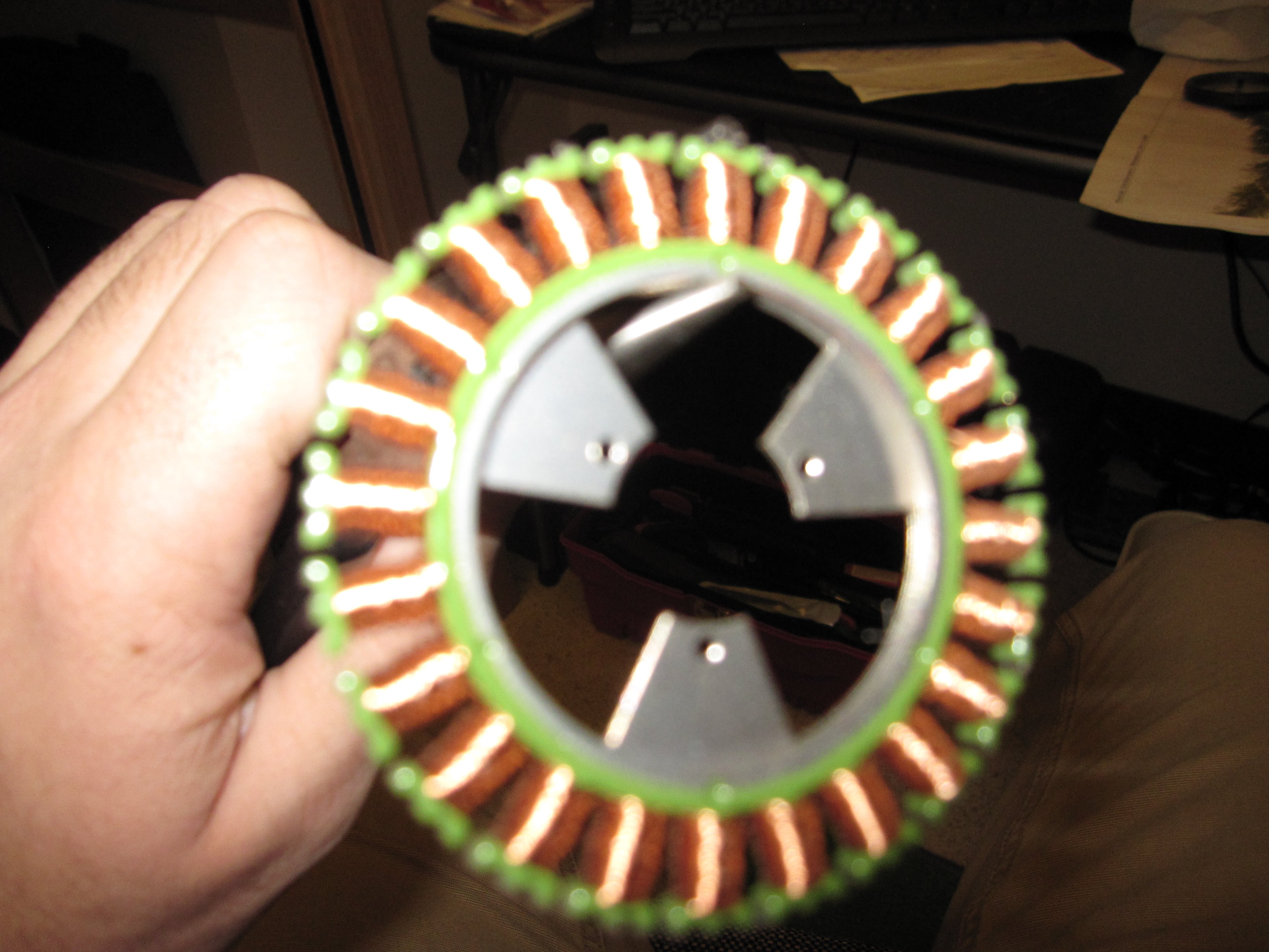 Picture of Remove Stepper Motor Rotor