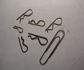 Paperclip RC Car Body Clips