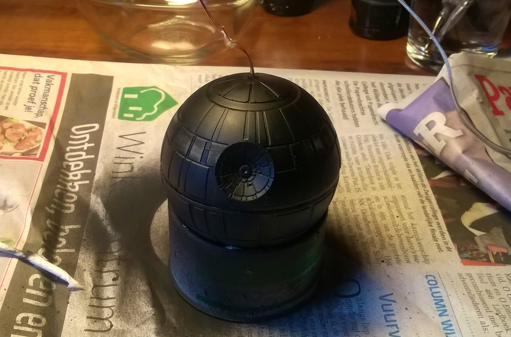 Picture of Applying the Base Coat