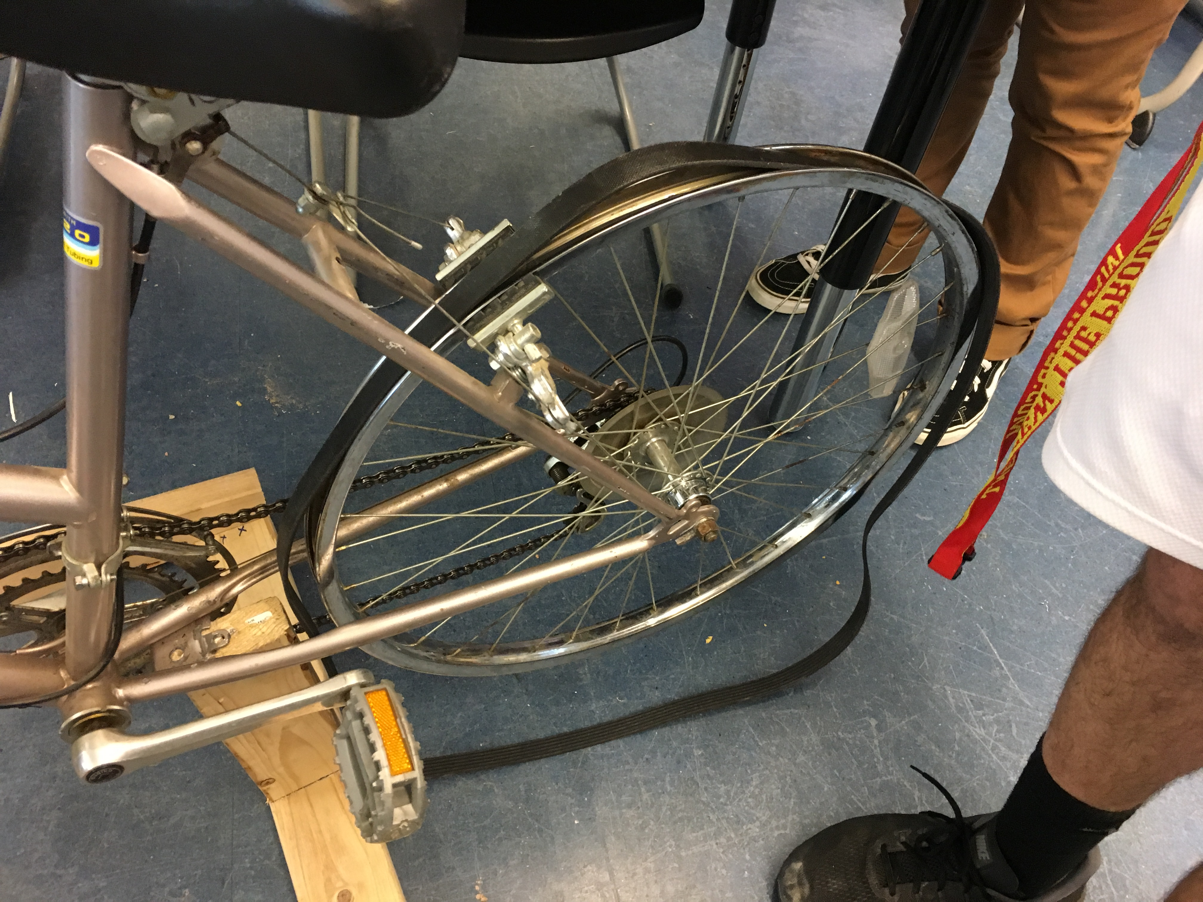 Picture of Preparing the Back Wheel