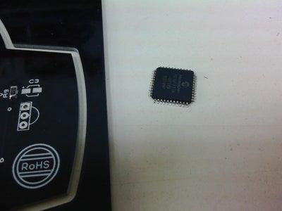 Desoldering Micro Processors