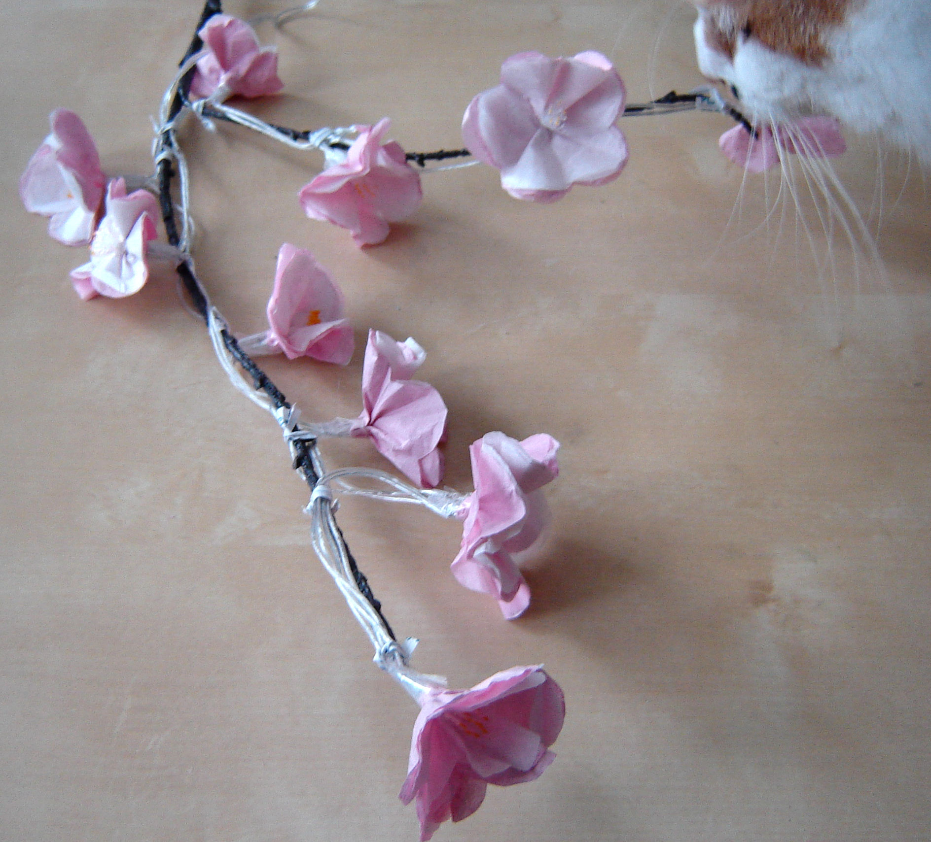 Picture of Putting the Blossoms on the Branch