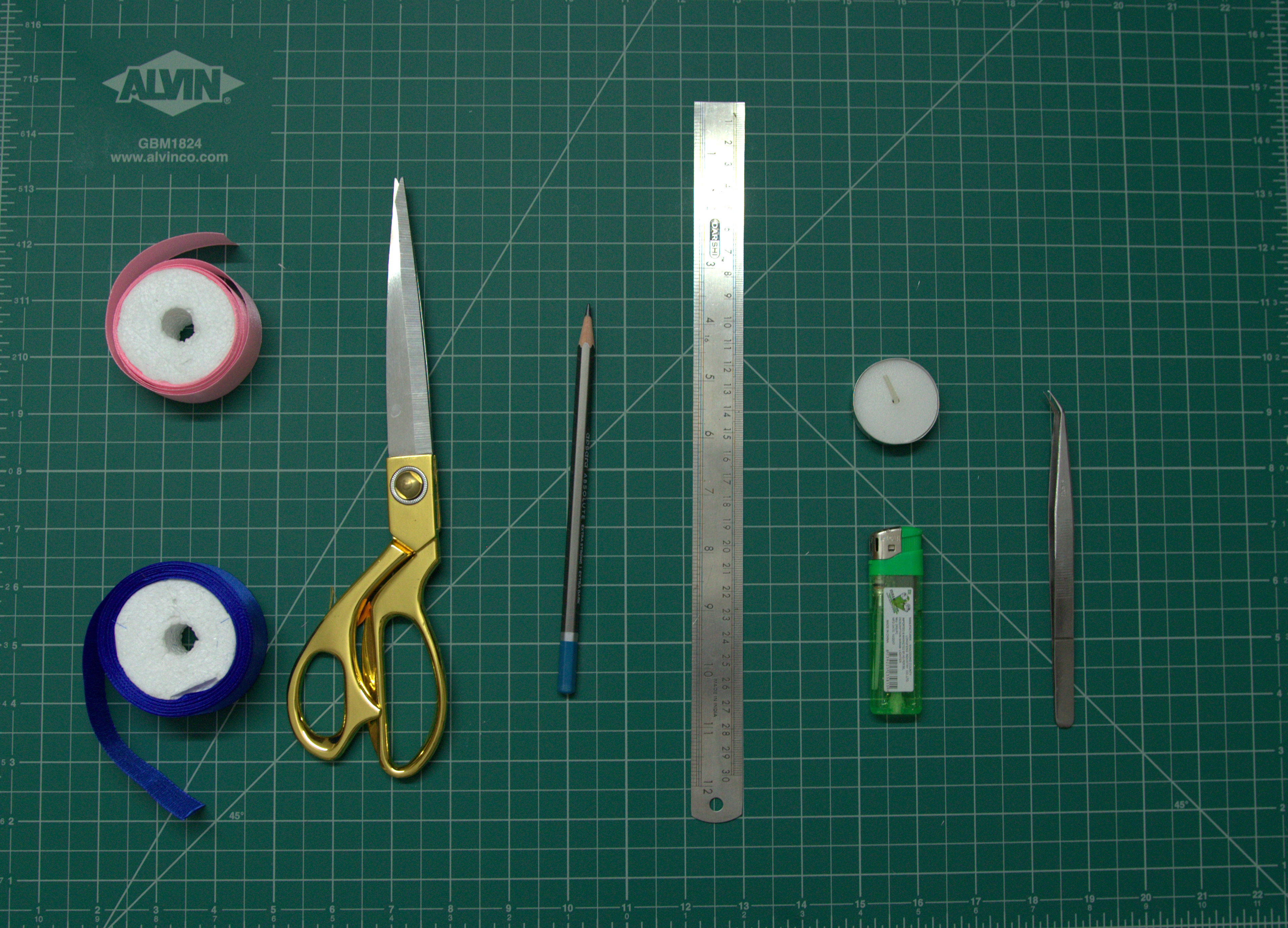 Picture of Materials and Tools Required