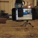 Curiously Strong Tripod Mount for iPod Touch 4+