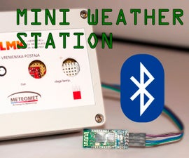 DIY Weather Station With Bluetooth