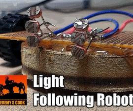 Light Following Robot