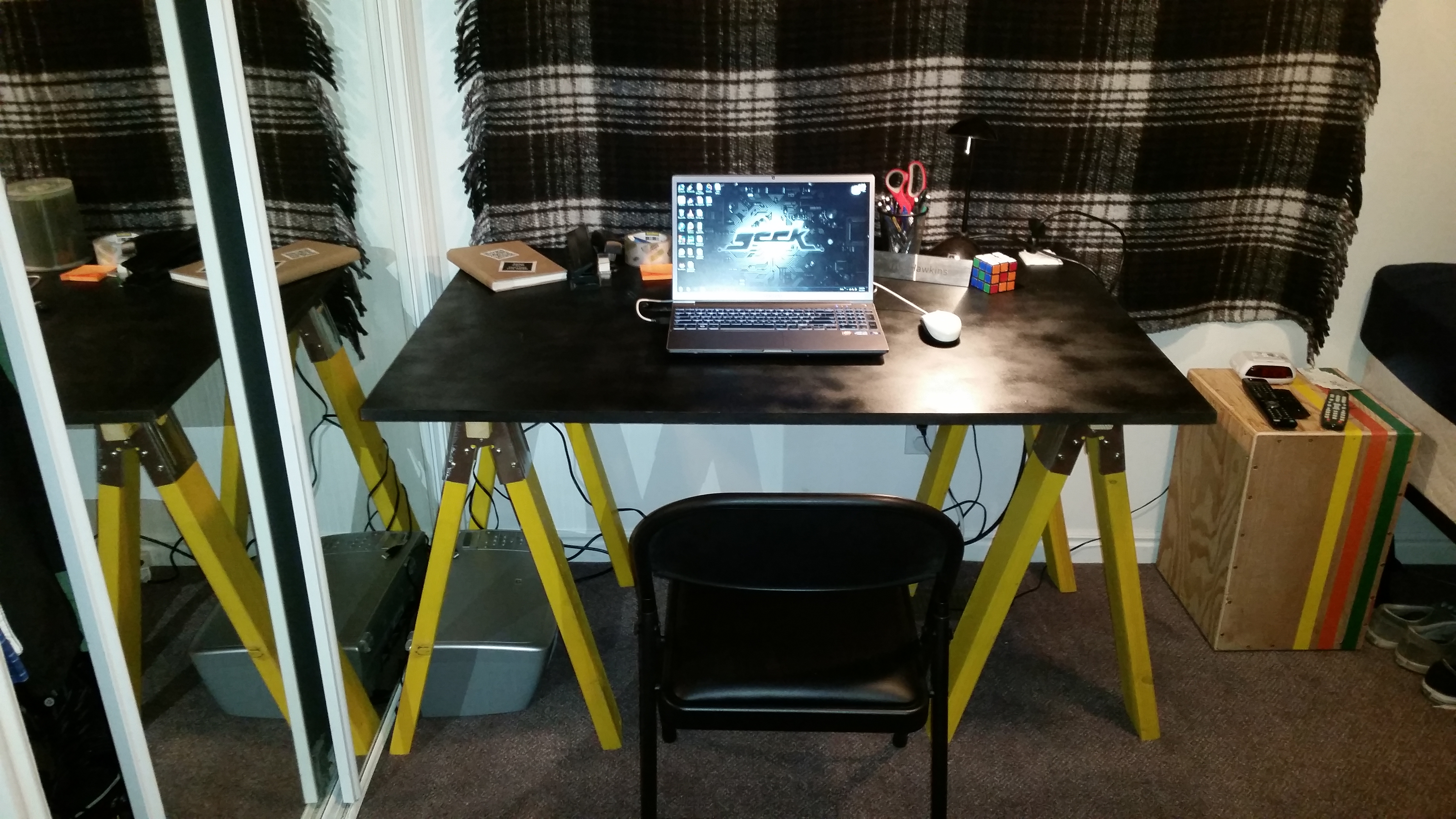 Picture of Sawhorse Desk on the Cheap