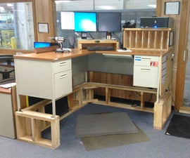 """16"""" Lift Kit for Work Desk"""