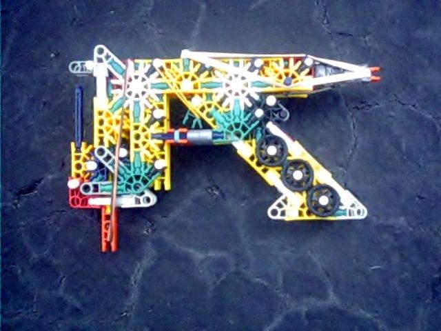Picture of Knex W.O.P. Mk2 (Whiplash Oodammo Pistol)
