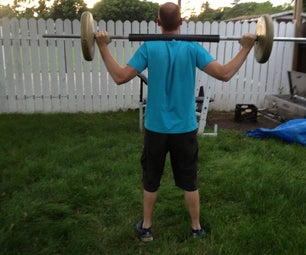 BarBell Squat Padding With Bonus Work Out.