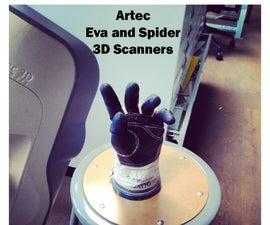 Pier 9 Guide: Artec 3D Scanners