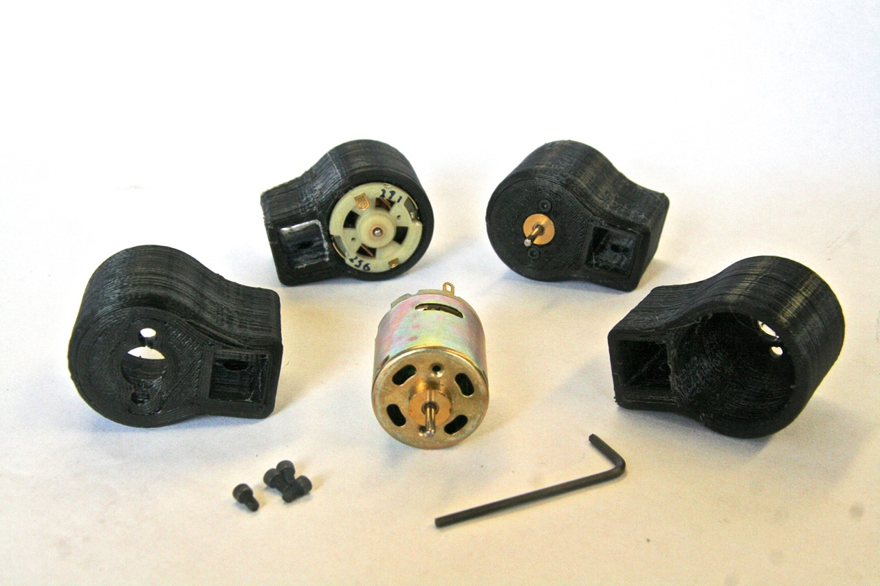 Picture of Making the Motor (Generator) Mounts