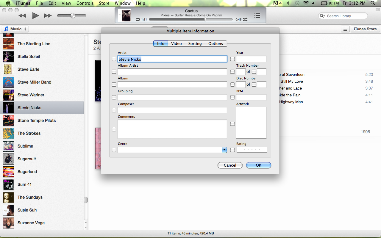 Picture of Putting the Album Into Itunes (or Other Music Player)