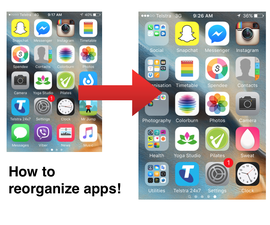 How to organize apps!