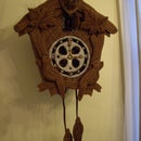 Edible Gingerbread Cuckoo Clock with Internal gears