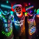 Full color LED cyber suit! (additional instructables for NES Powerglove control, Live Audio EQ,etc.. to follow!)