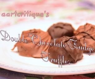 Fool-Proof Fudge Truffles