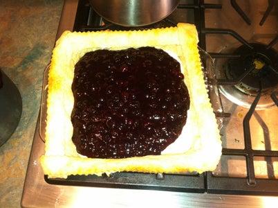 Prepare Huckleberry Filling