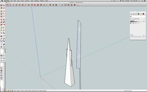 Create 3D Model for Knife