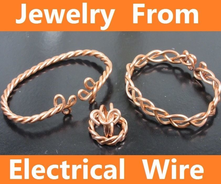 Jewelry From Electrical Wire: 6 Steps (with Pictures)