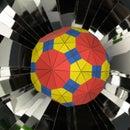 Easy-to-Make Polyhedral Kaleidoscopes
