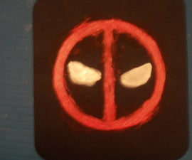 Personalized DeadPool Mouse pad