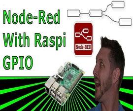 Node Red - Control RaspberryPi