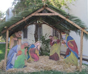 Making the School Nativity Scene