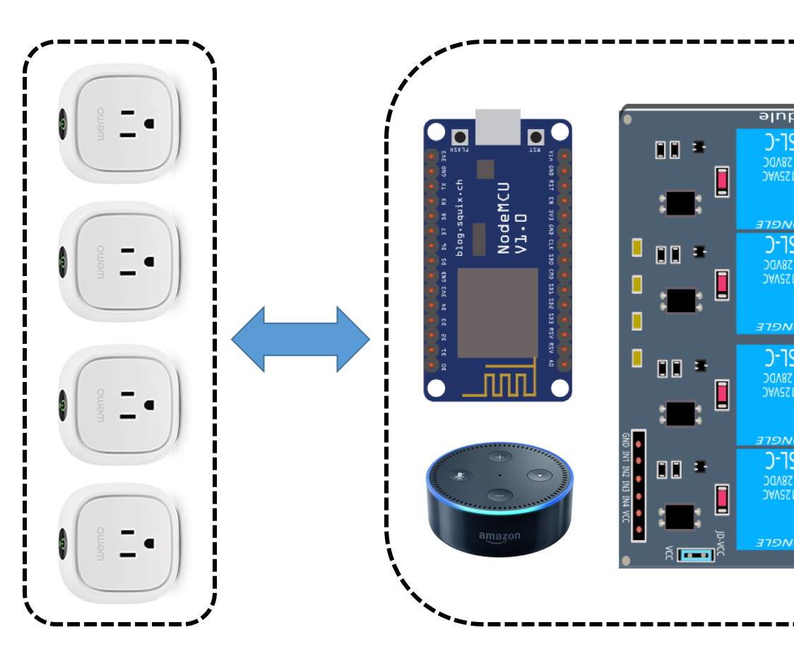 Alexa Nodemcu Wemo Emulation Made Simple 4 Steps With Pictures Light Switch Wiring Diagram