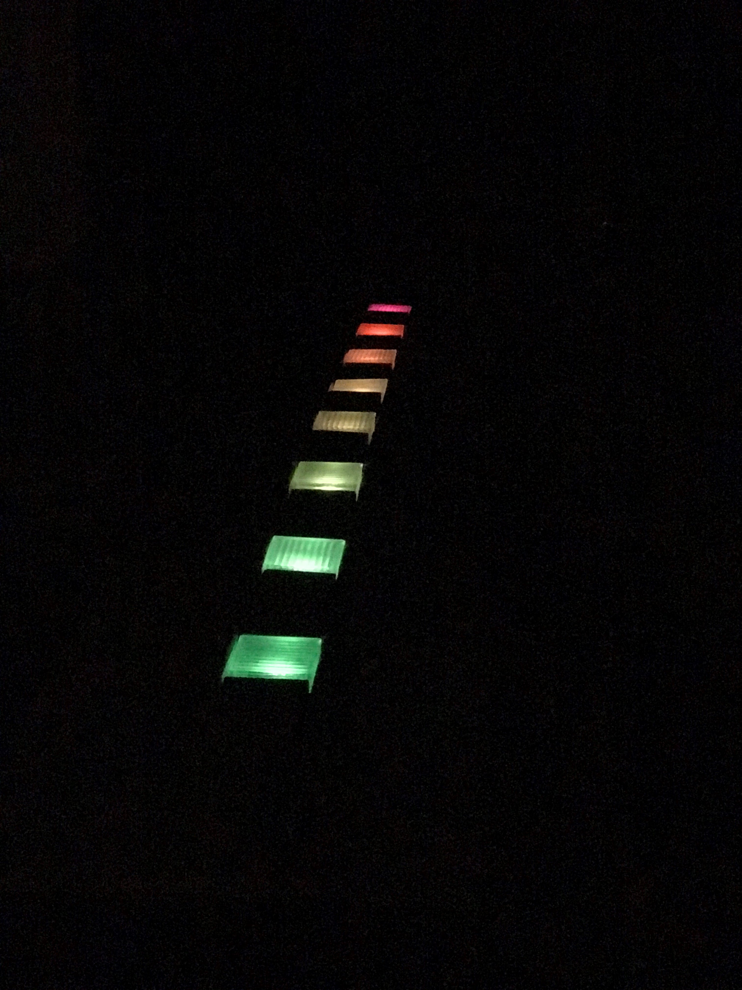 Picture of Solar Powered RGB LED Magic Pathway